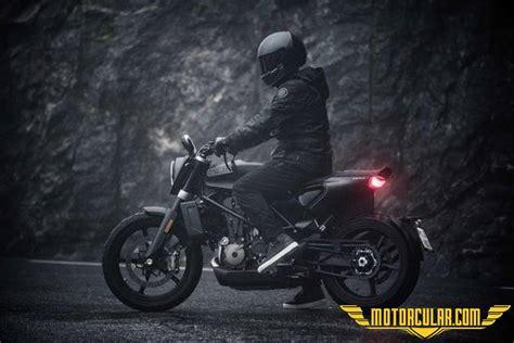 husqvarna svartpilen  tanitildi motorcularcom