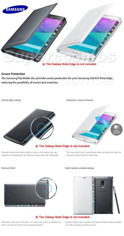 Original Samsung Flipwallet Galaxy Note Edge Cover new genuine oem original samsung galaxy note edge sm n915 flip wallet cover ebay