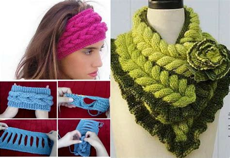 live in art braided headband pattern diy knitted faux braid headband free pattern video