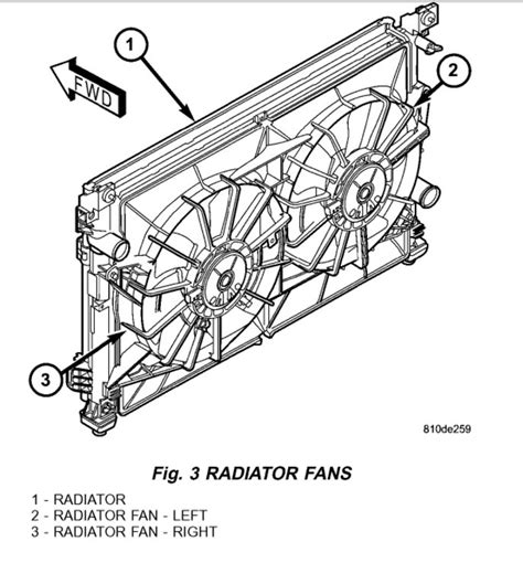 2006 chrysler pacifica radiator fan fan unit replacement how do you remove replace