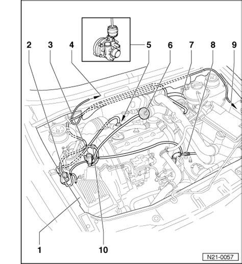 golf tdi vacuum hose diagram volkswagen workshop manuals gt golf mk3 gt power unit gt 4