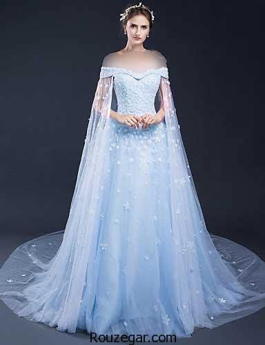 hochzeitskleid hellblau زیباترین لباس مجلسی شب حنابندان 2018