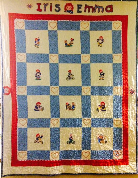 Raggedy Quilt by Made Me Do It Raggedy Quilt Finish Plus