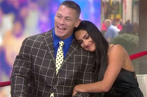 nikki bella and john a look at the story behind john cena and nikki bella s