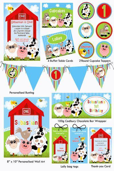 printable farm party decorations 139 les meilleures images concernant farm party sur