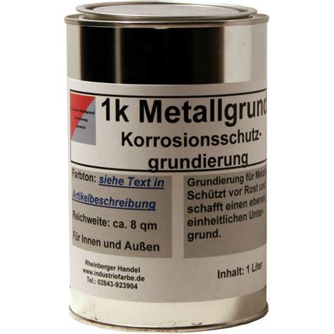 Metall Grundieren Lackieren by Grundanstrich F 252 R Metall Rostschutzgrund Grundierung 1