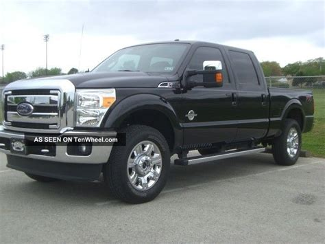 2012 ford f250 lariat diesel fx4 4x4 crewcab shortbed