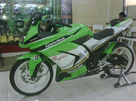 foto gambar modifikasi motor kawasaki 250 z 150 cc motorcycle review and galleries