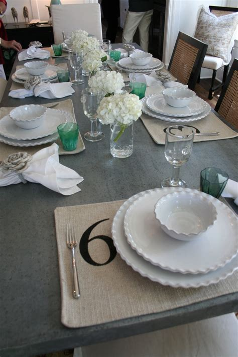 casual table setting best 20 casual table settings ideas on pinterest