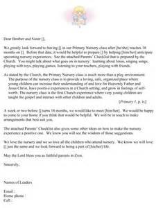 Church Nursery Worker Cover Letter by Nursery Risk Assessment Template Virtren