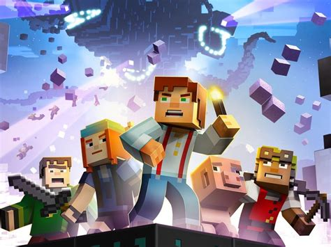minecraft story mode the episode of minecraft story mode is out for pc