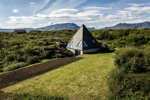 Unique Small House Plans Small Pyramid Cottage In Iceland Is Sustainable And Charming
