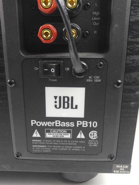 Jbl Power Bass jbl pb 10 power bass subwoofer