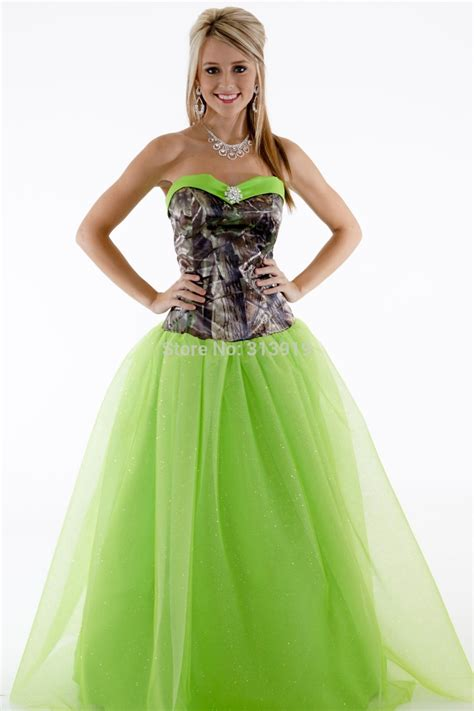 hairstyles formal dresses free shipping strapless printing realtree camouflage camo