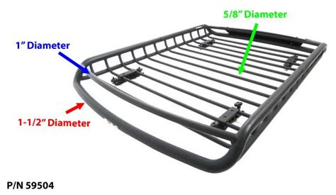 Roof Basket With Lights by Mounting Roof Top Lights On Rola Roof Mounted Cargo Basket