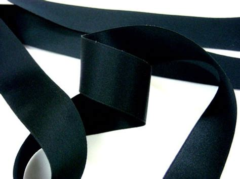 silk satin ribbon 1 quot black gt products for flat rate