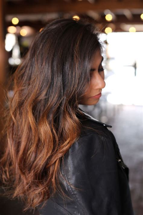 highlights for indian women balayage indian