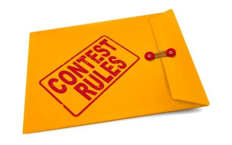 Sweepstakes Contest Rules - sweepstakes and contests do i need official rules text to win sweepstakes