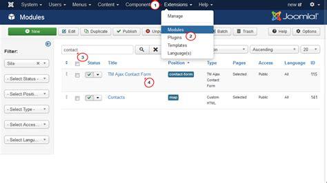 joomla ajax tutorial joomla 3 x how to set up captcha in tm ajax contact form