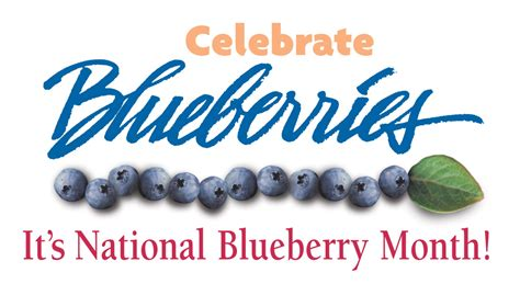 national month national blueberry month me learn and grow