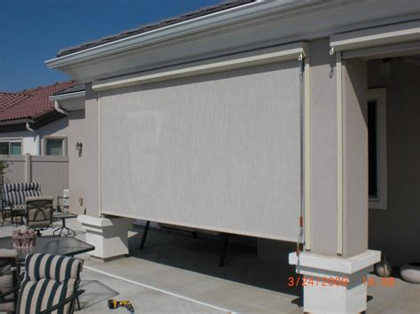 shoreline awning patio inc box track system