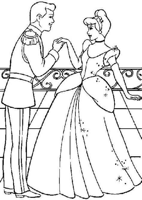 Cinderella Colouring Learningenglish Esl Printable Cinderella Coloring Pages