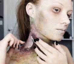 zombie bite makeup tutorial special effects makeup lexbots zombie bite makeup