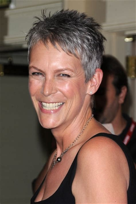 jamie lee curtis hairstyle front and back view pictures of what does a wedge haircut with bangs look like