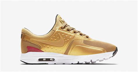 Termurah Nike Airmax Zero Black White Go womens nike air max zero metallic gold next level kickz
