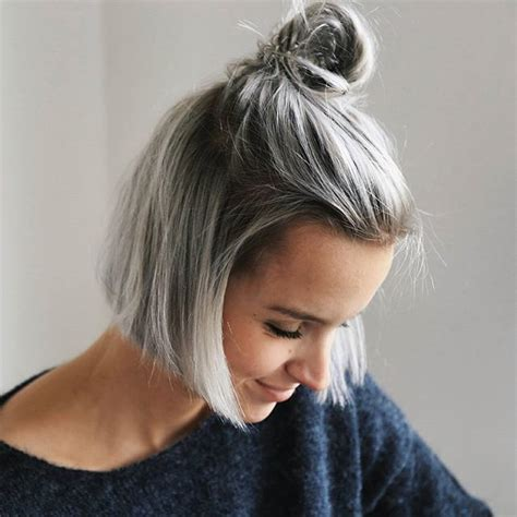 25 best ideas about short silver hair on pinterest gray