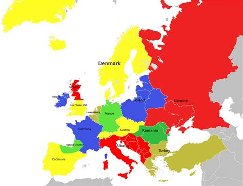 russia map of europe 2035 what europe will look like in 2035 if russian tabloids