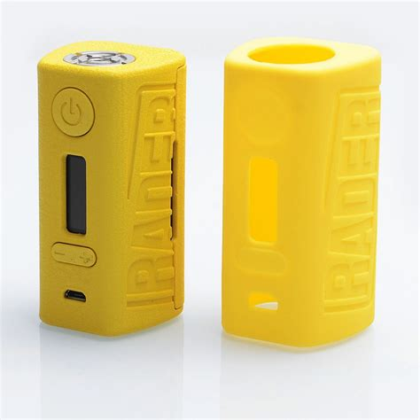 Boxer Rader 211w Tc Box Mod Authentic By Hugo Vapor authentic hugo vapor rader 211w yellow tc vw variable