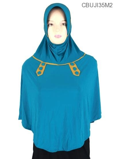 Jilbab Syari Jumbo jilbab bergo syari jumbo elisa kancing jilbab pashmina