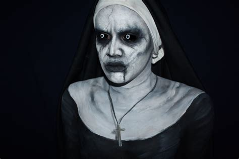 film valak the conjuring 2 valak makeup tutorial youtube