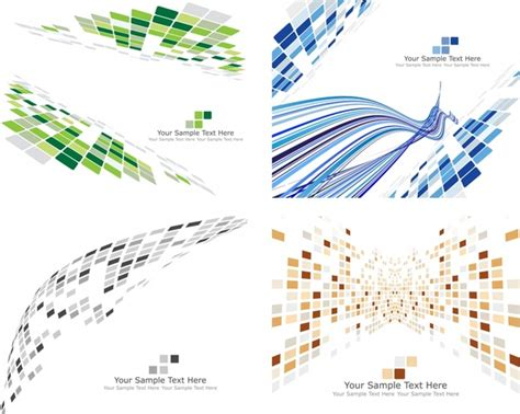 dynamic pattern theory dynamic pattern background vector technology box free