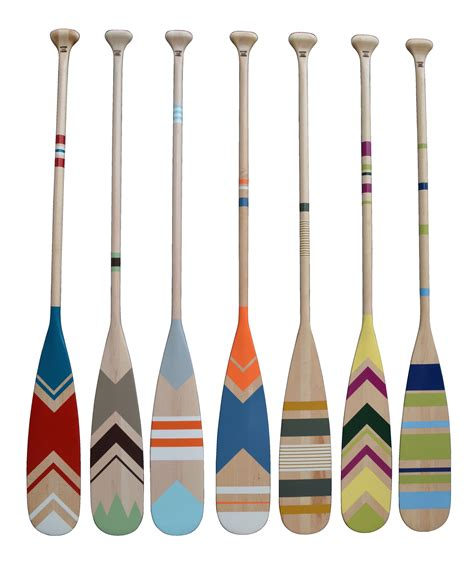 canoe paddle boat hand painted canoe paddle collection pagaies de canot