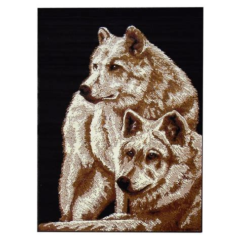 Wolf Area Rugs Wolf Area Rugs Shop Everything Log Homes Wolf Area Rugs