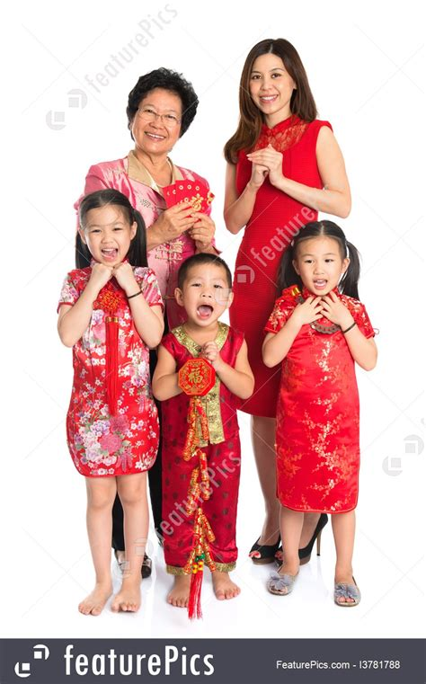 what are new year clothes called asian family celebrate new year