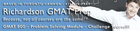 Mba Prep Course Toronto by Richardson Gmat Preparation Courses Toronto Canada