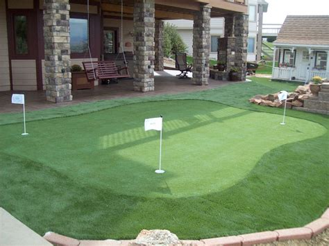 backyard putting greens putting green turf artificial grass for golf progreen