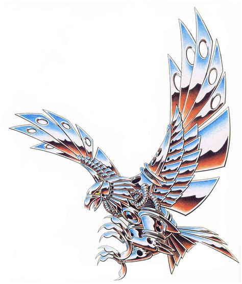 flying eagle tattoo designs celtic eagle designs