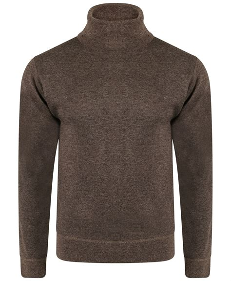 mens knit pullover mens plain turtleneck jumper sleeve wool blend knit