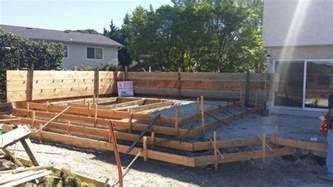 Patio Drainage Ideas Raise Stamp Concrete Patio Richmond All Access