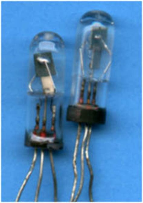 germanium transistor supply valves vs transistors