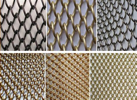 chain mesh curtains industrial chain curtains metallic shower curtain