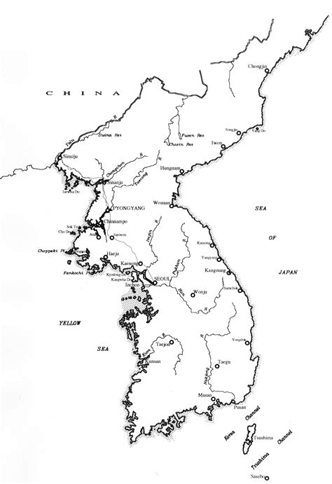 korea map coloring page south korea map outline sketch coloring page