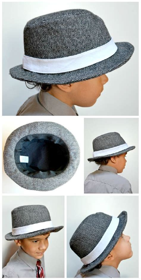 elegance elephants fedora hat pattern sewing for