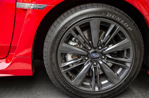subaru factory wheels 2015 subaru wrx cvt first test motor trend