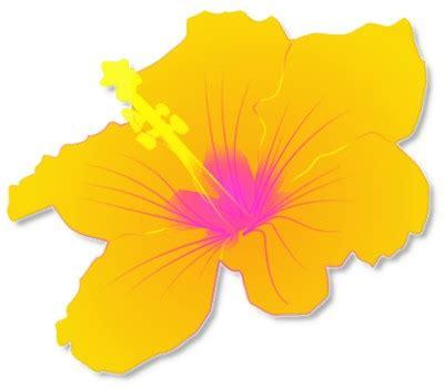 free printable luau flowers hawaiian flowers clipart clipart best