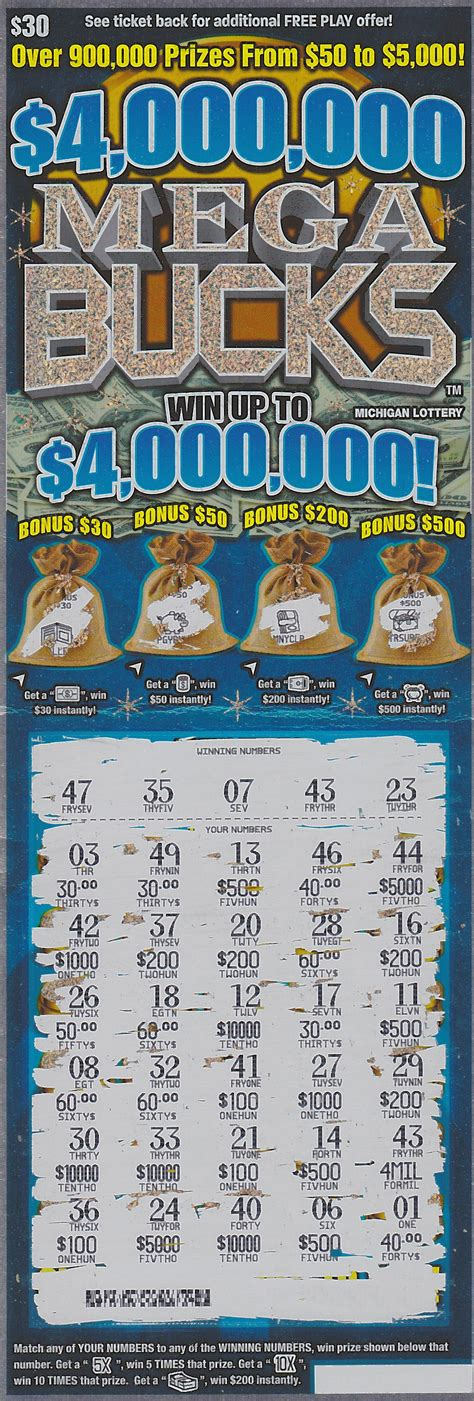 Best Online Lottery Instant Wins - macomb county woman wins 4 million playing the michigan lottery s 4 000 000 mega